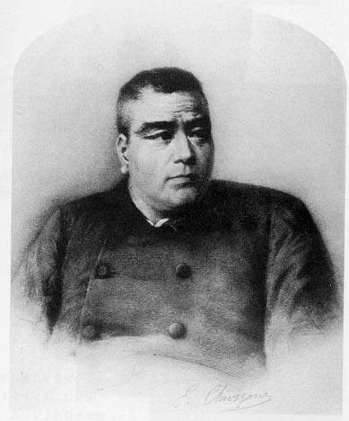 西郷隆盛 もどる 肖像画「西郷隆盛像」(複製) 西郷従道と大山巌の顔を合成して描かれたコンテ画。