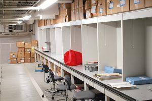 収蔵庫の写真